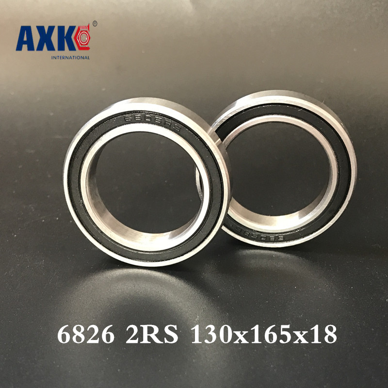 2018 Real Promotion Steel Rodamientos Thrust Bearing 6826 2rs 130x165x18 Metric Thin Section Bearings 61826 Rs 2018 hot sale time limited steel rolamentos 6821 2rs abec 1 105x130x13mm metric thin section bearings 61821 rs 6821rs