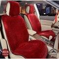 1 pcs tampa de assento do carro da frente faux fur artificial sanderd tamanho for all car universal uso almofada carro inverno quente venda de fábrica