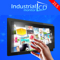 21.5 inch metal embedded frame resistive touch screen industrial monitor with DVI connector 21.5 inch touch screen monitors
