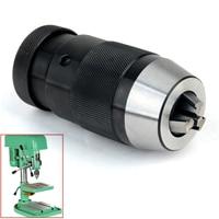 1pc B18 Keyless Drill Chuck Adapter Self Locking Tighten Taper Drill Chuck 1 16mm For Lathe