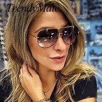 2017 Для мужчин Брендовая Дизайнерская обувь Винтаж Пилот солнцезащитные очки для мужчин большие солнцезащитные очки в стиле ретро женские с...