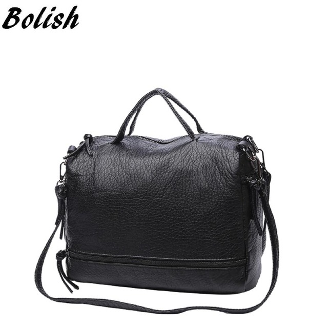 Bolish Fashion Waterproof Pu Leather Crossbody Bag Vintage Women Messenger  Bag Motorcycle Shoulder Bag Large Women 2c438f6ff530f
