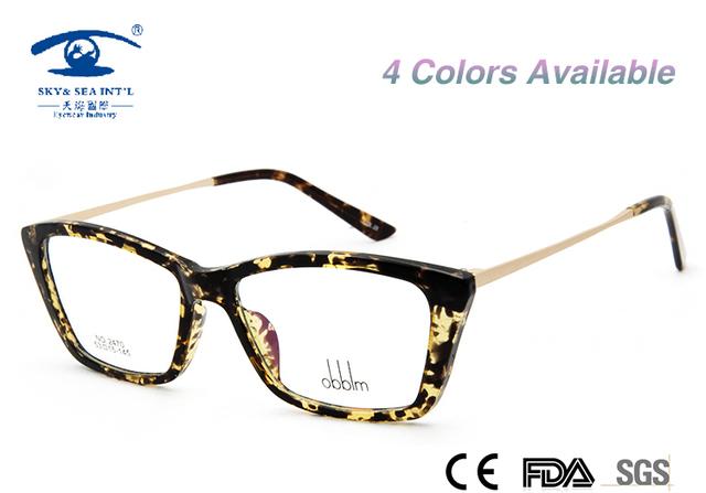 """""""Obblm"""" Nuevo Miopía Llanura Gafas de Equipo Gafas De Grau Femininos Mujeres Mariposa Marcos de Anteojos"""