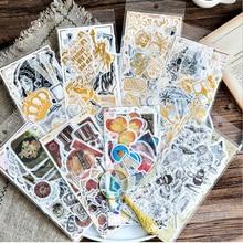 60pcs/pack Kawaii Gentlemans series Paper diy Decorative Sticker Diary Album Label Scrapbooking Stationer