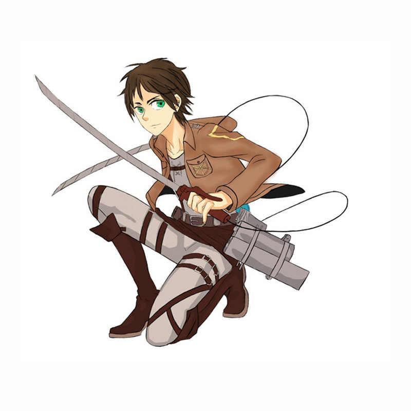 Attack On Titan Cosplay Shingeki No Kyojin คอสเพลย์แจ็คเก็ตญี่ปุ่น Anime Brown Coat ผู้หญิงผู้ชายผู้ใหญ่