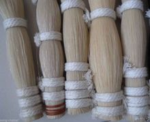 Free shipping 1kg horse hair 80-85cm Mongolian White Bow parts high quality