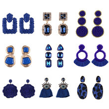 Miwens Za 2019 Metal Maxi Drop Earrings Lady Girls Spring New Hot 32 Designs Handmade Factory Jewelry Accessories Brincos A439(China)