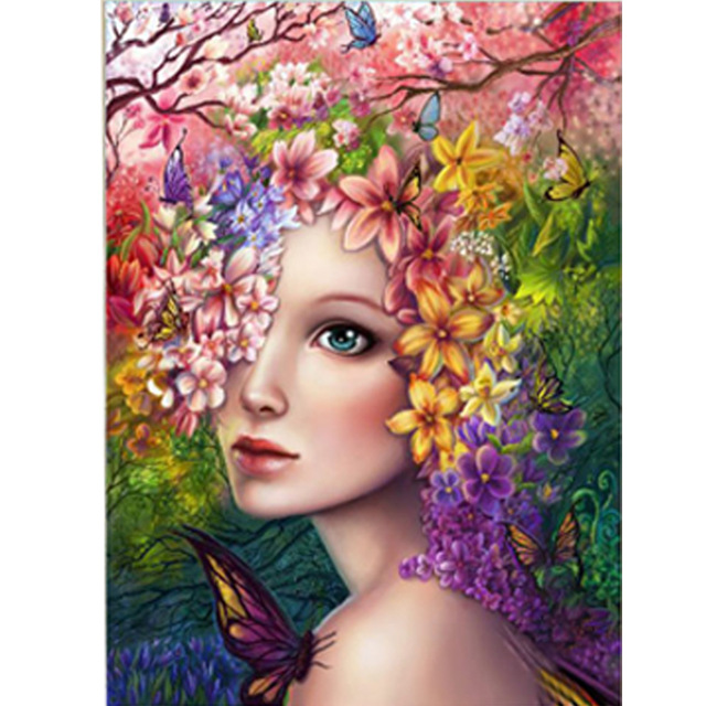 Beauty Butterfly DIY 5D Diamond Embroidery Painting Cross Stitch Home Wall Decor
