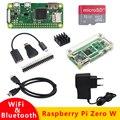 Raspberry Pi Zero W kit 512MB RAM бортовой WiFi и Bluetooth + акриловый чехол + радиатор для Raspberry Pi лучше нуля 1 3