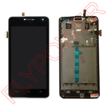 For Huawei U9508 honor 2 LCD Screen Display with Touch Screen Digitizer+Frame Assembly by free shipping;100% warranty;Black;HQ