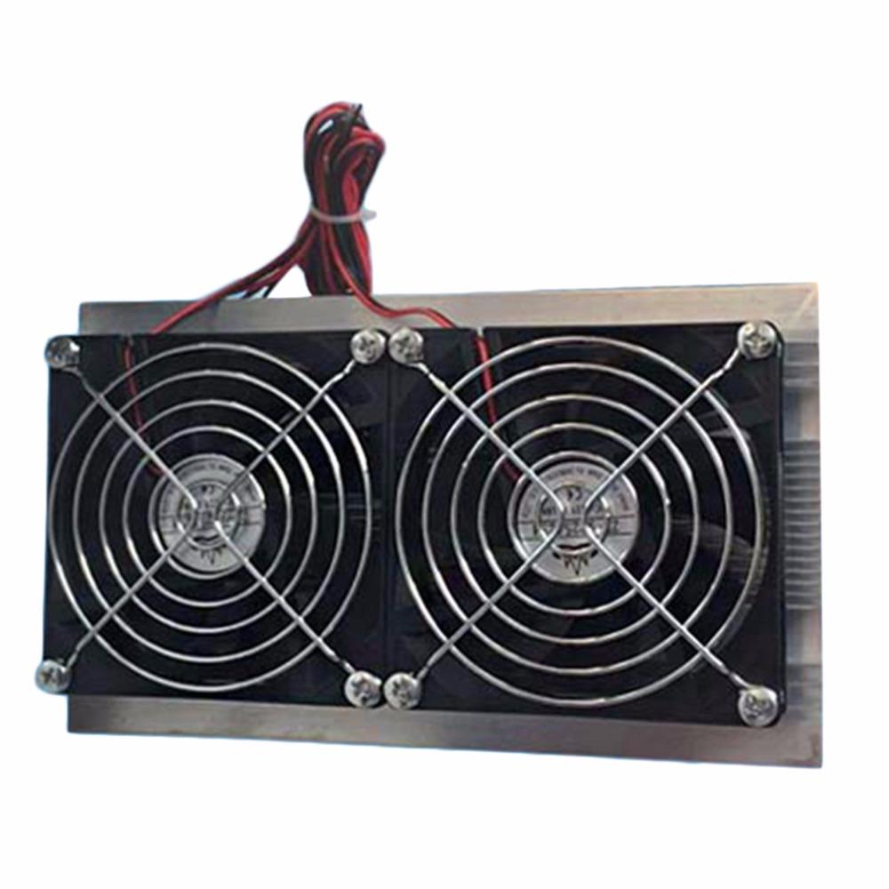Prix pour NOUVELLE Électronique Semiconductor Réfrigération Air Conditionné Double-Core Semiconductor Réfrigération Puce Modules