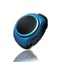 Бег Bluetooth Динамик 4.0 стерео мини-Портативный открытый Колонки езды часы карта СПОРТ сабвуфер громкий Динамик