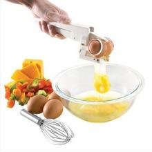 Plastic Handheld EZ Cracker Egg Cracker Separator Egg Cutter Dividers Slicer Kitchen Egg Tools Cooking Tools Kitchen Accessories