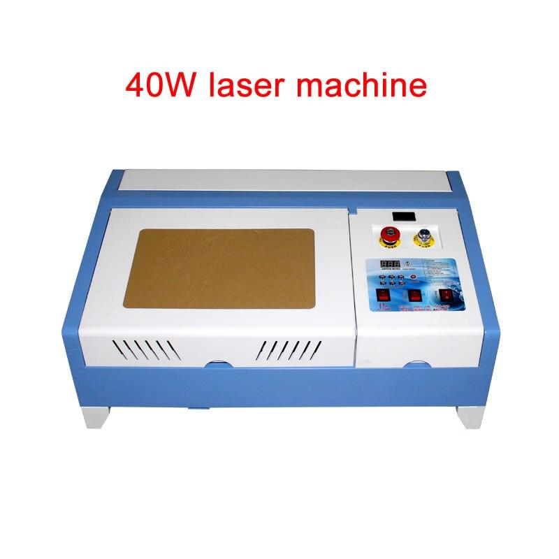 Laser de bureau 3020 40W CO2 CNC Machine de gravure Laser avec fonction numérique et Table en nid d'abeille taille de travail à grande vitesse 300*200MM