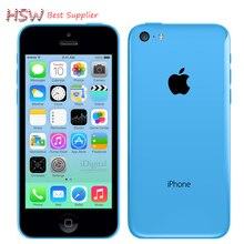 Лидер продаж разблокирована оригинальный Apple IPhone 5C телефона 4.0 «двухъядерный 8MP Камера IOS WI-FI GPS используется мобильный телефон мульти- язык