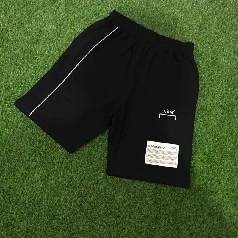A-Cold-Wall Acw Shorts Men Women Sweatpants Loose Breathable Leisure Sports Shorts Streetwear A-Cold-Wall Acw Beach Shorts Kilt