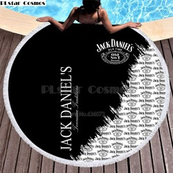 Game of Thrones Blanket Women Bath Towel for Beach Thick Round 3d print Fabric Quick Compressed Towel new style-1