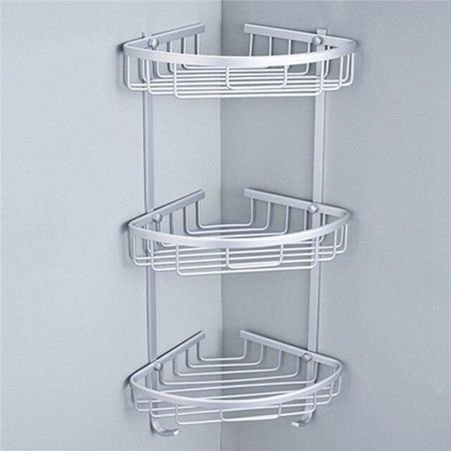 1/2/3 LayerSpace Aluminium Badezimmer Eckregal Dreieckige Dusche ...