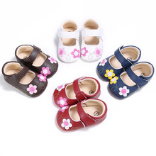 Fashion PU Leahter Baby Girls First Walkers Shoes Infant Kids Bebe Sneakers Spring Autumn Soft Soled Sapatos Sneakers Loafers