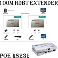 3D 4kx2k 100M HD BaseT HDMI 1080P IR Extender Repeater Over Cat 6/7 Support POE RS232 Bi-directional IR For BlueRay DVD PC