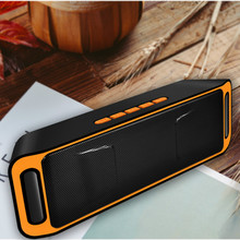цена на Bluetooth Speaker Wireless Portable Stereo Sound Big Power 10W System MP3 Music Audio AUX With MIC For Android Iphone