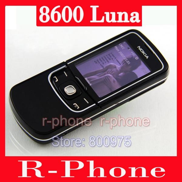 bilder für Original nokia 8600 luna mobile telefon entsperrt 2g gsm handy & russische tastatur & ein jahr garantie