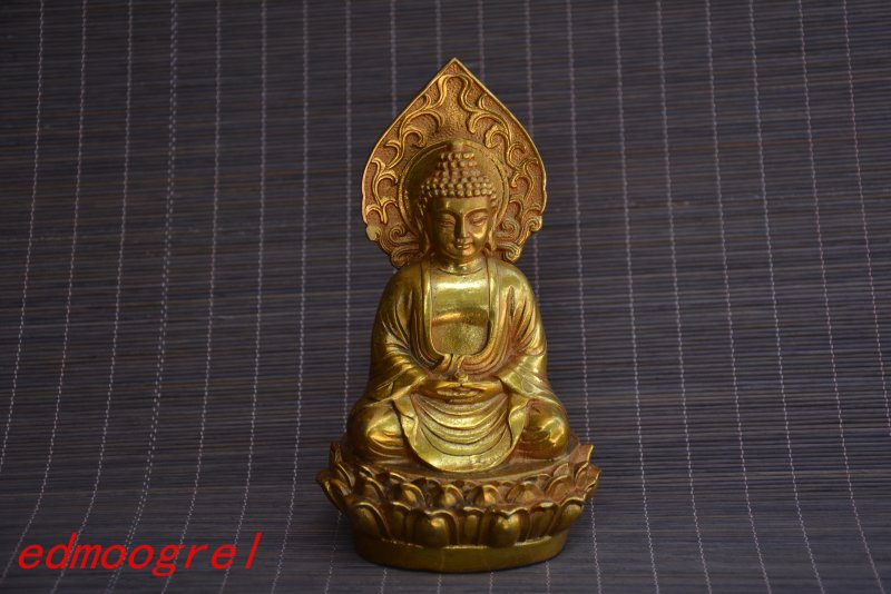 Antique Old QingDynasty copper carving--Buddha #4, hand crafts,best collection&adornment,free shippingAntique Old QingDynasty copper carving--Buddha #4, hand crafts,best collection&adornment,free shipping