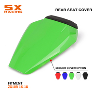 Motorbike High Quality ABS Plastic Colorful Rear Seat Cover Cowl For KAWASAKI Ninja ZX10R ZX-10R ZX 10R 2016 2017 2018
