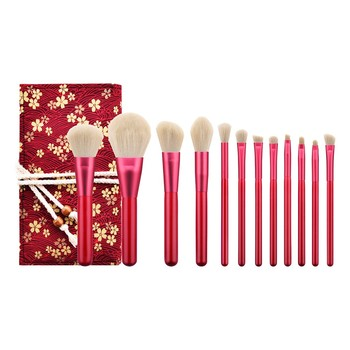 New 2019 Women's Fashion 12PCS  Rubies Blush Brush Eyeshadow Brush Makeup Brush Included Brush Kit Maquiagem Drop Shipping Eye Shadow Applicator