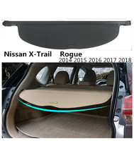 For Nissan X Trail Rogue 2014 2015 2016 2017 2018 Rear Trunk Security Shield Cargo Cover