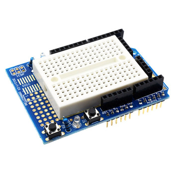 UNO Proto Shield Prototype ExpansionBoard Based for Arduino Uno ProtoShield with SYB-170 Mini Breadboard