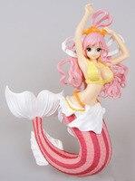 15cm Japanese Anime One Piece Shirahoshi Action Figure Mermaid Princess collectible model toys