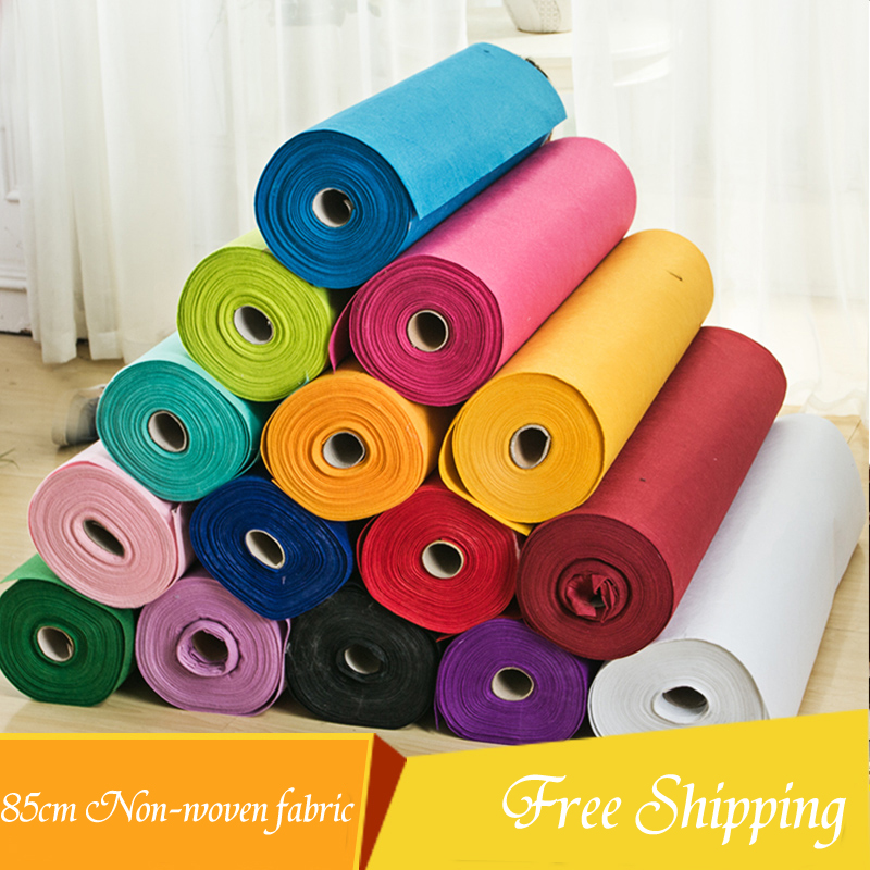 85cm Wide Thickness Nonwoven Fabric Children Needlework Diy Needle Sewing Handmade Cloth Felts Of Home Decoration Wedding Carpet