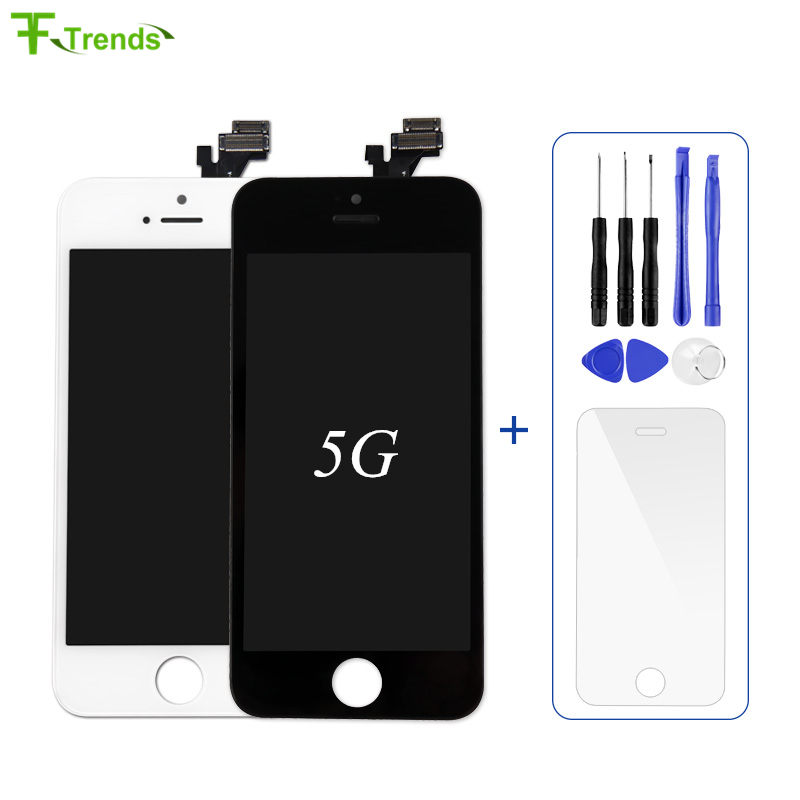 FFtrends 1Pcs Grade AAA Mobile Phone Display For Pantalla IPhone 5S 5 5c LCD Touch Screen Digitizer Assembly With Free Gift