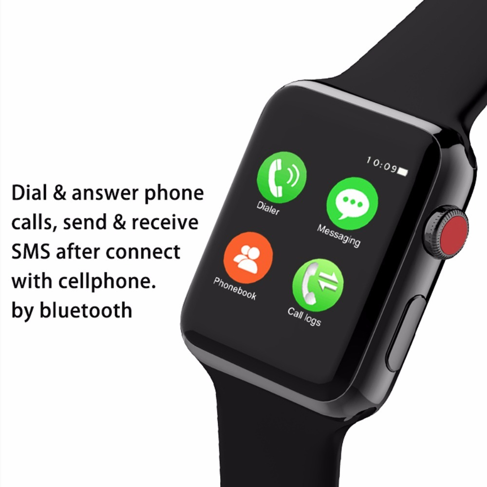 Bluetooth Smart Watch Series 3 Smartwatch Case for Apple iOS Android Phone Sport Bracelet Fitness Tracker Wristwatch