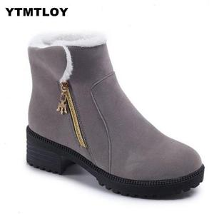 2019 Women Boots Winter Shoes