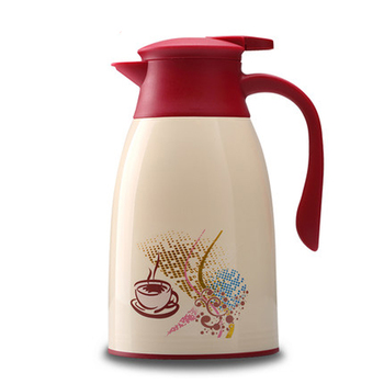 Double Wall Glass Lasting Vacuum Thermos Pot 1.3L 1.6L Tea Coffee Chinese Thermos Cup Dining Insulated Kettle Hot Water Jug