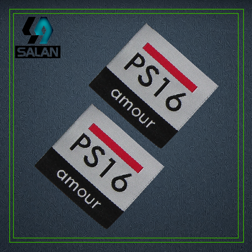 Custom Clothing Woven Labels Customize OEM Eco Friendly