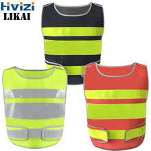 Utility & Safety Vest Unisex Top Waistcoat For Men And Women With High Visibility Reflective Crystal Lattice Stripes Free Ship(China)