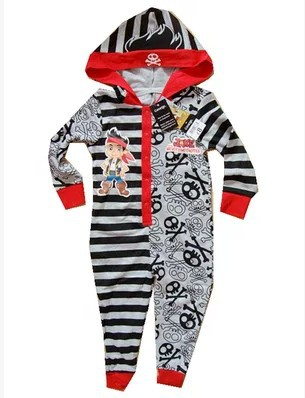 Child Boys Romper Girls Jumpsuit Kids Clothing Autumn Jack And The Neverland Pirates Cartoon Long Sleeve pajamas Clothes ...