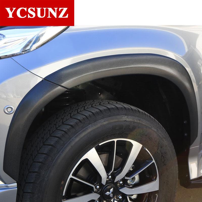 2016-2017 garde-boue Pour Mitsubishi Pajero Sport Évasements d'ailes Pour Mitsubishi Montero Sport Pajero 2017 fender Ycsunz