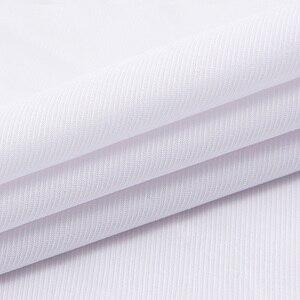 Image 5 - Camisa para hombre de talla grande 6XL, 5XL, 4XL, 3XL, moda de ocio, camisas de vestir de retales lisas, camisas de negocios de sarga para boda Social