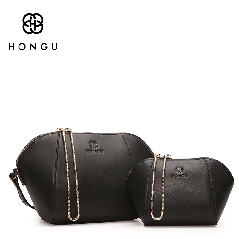 HONGU Luxury Handbags Women Bags Designer New Women Shoulder Bag Set Fashion Shell Clutch Bag High Quality Leather Female Bag 2016 new hot luxury plaid women bags handbags high quality leather bags for women shoulder bag famous brand chain shell bag