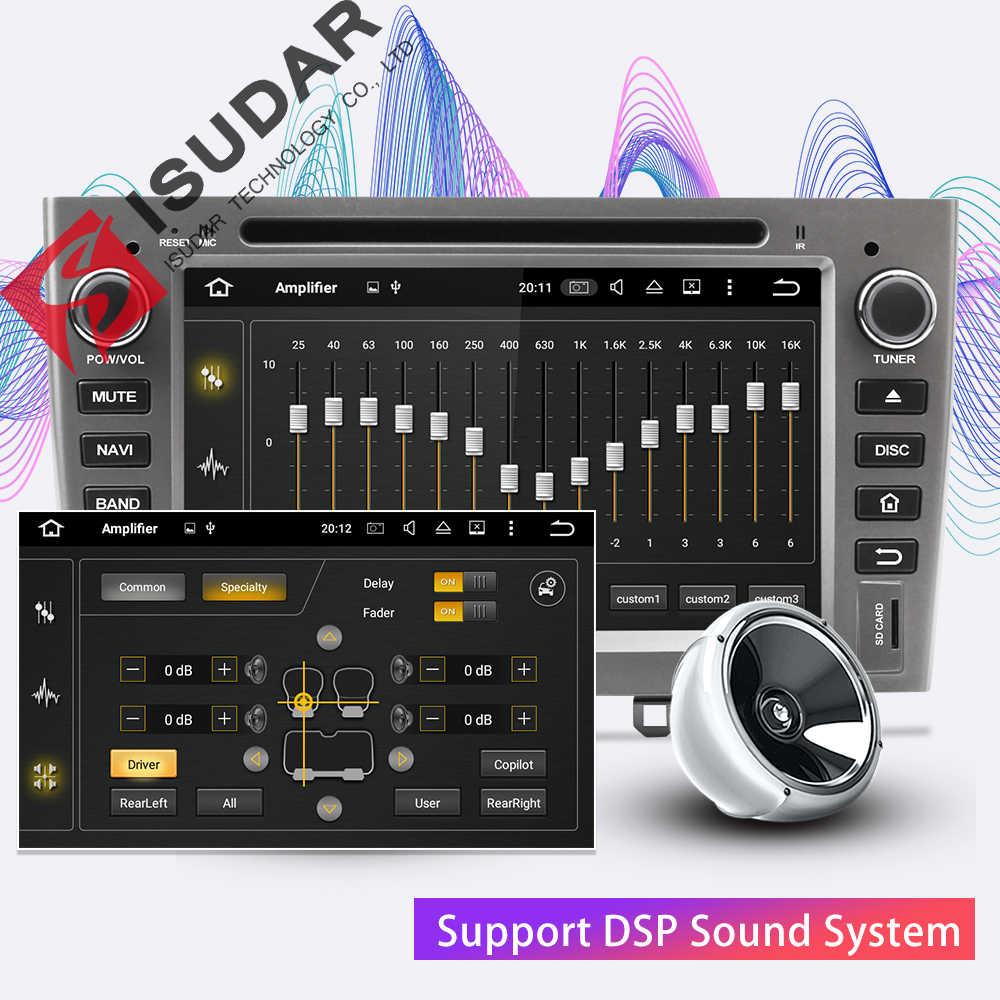 Isudar H80 Máy Nghe Nhạc Đa Phương Tiện Android 8.0 2 DIN Autoradio Cho Xe Đạp Peugeot 308/408 Cho Vẹt Bluetooth Điều Khiển Giọng Nói DSP GPS đầu Ghi Hình