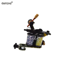 1PC Tattoo Gun Rotary Handmade Tattoo Machine Motor Liner Shader Silent Running Tattoo Gun for Body Art Tattoo Gun Free Shipping