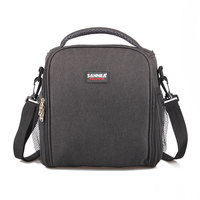 8L Portable PEVA Lunch Bag Shawls Picnic Box Thermos Package Bolso Cooler Insulated Cool Bags Can