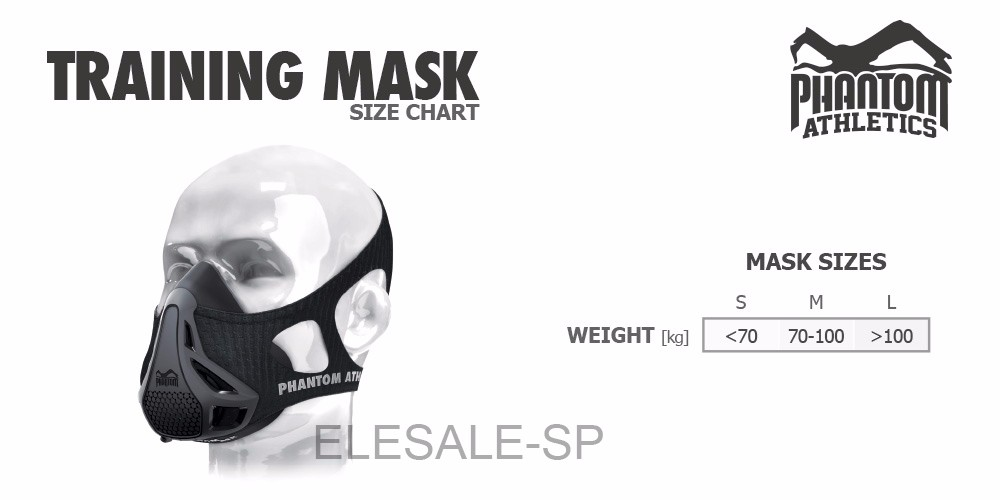 Phantom_Athletics_Size_Chart_Training_Mask
