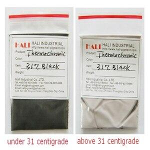 Image 3 - Pigmento sensible al calor, pigmento sensible a la temperatura, polvo termocrómico, negro, 1 kg por bolsa