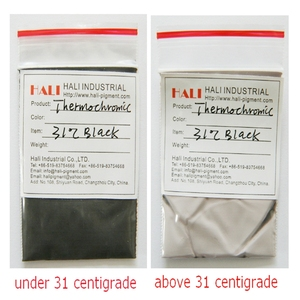 Image 3 - heat sensitive pigment, temperature sensitive pigment,thermochromic powder, black,1kg a bag