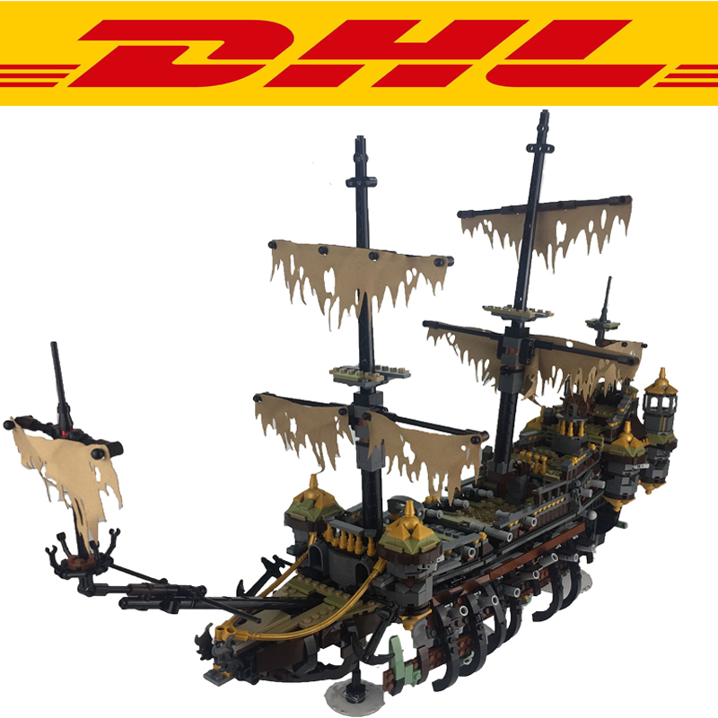 2017 New 2344 Pcs Pirates of the Caribbean The Silent Mary Building Kits Blocks Brick Set Children Toys Figures Compatible 71042 lepin 16042 pirates of the caribbean ship series the slient mary set children building blocks bricks toys model gift 71042